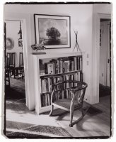 About books, Reading, Gelatin Silver Print, B&W Photography, Richard Margolis, Library,