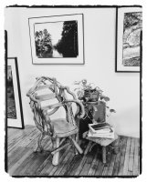 About books, Reading, Gelatin Silver Print, B&W Photography, Richard Margolis, Library, Penland, Fine Art Photography